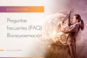 Preguntas más frecuentes (FAQ) Bioneuroemoción